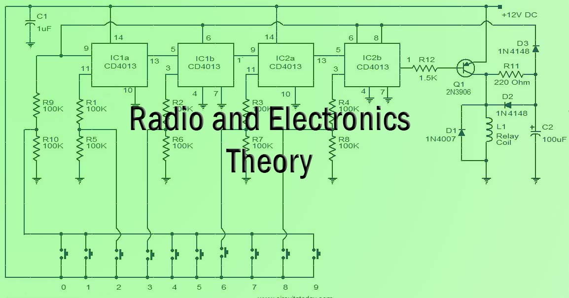 radio and electronic schemeatic